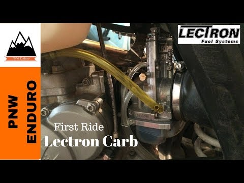 First ride report with the Lectron carb on a 2017 250XC.