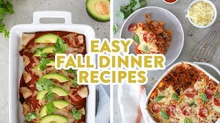 Easy Dinner Casserole Recipes | Healthy Dinner Ideas