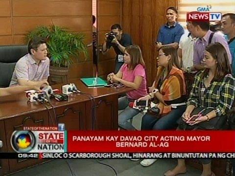 SONA: Panayam kay Davao City Acting Mayor Bernard Al-Ag