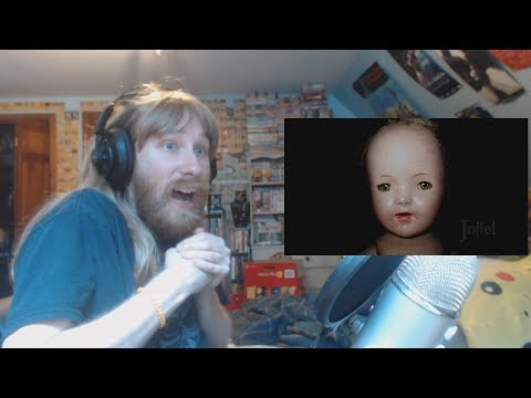 PURE TERROR! | Ryan Reacts to Top 10 Cursed Dolls