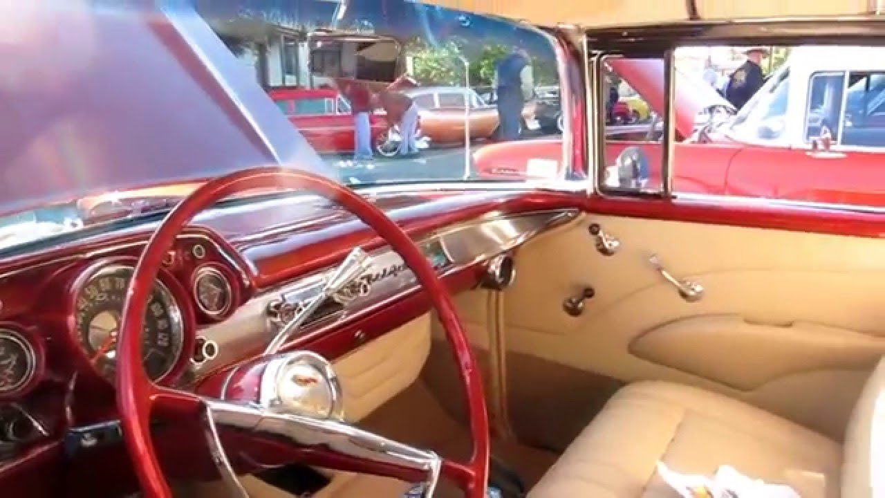 Awesome 1957 Chevy Bel Air Nomad 2016 Burger Run Youtube