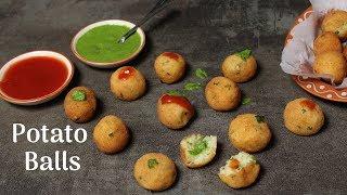 Crispy Potato Balls Recipe | How to make Potato balls | Homemade Potato Nuggets -Cooking with Siddhi