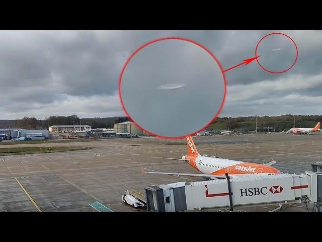 CONFIRMADO: Ovnis provocaron el cierre del aeropuerto de Gatwick y hay un video que lo demuestra