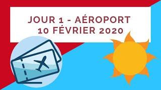 Jour 1 - Aéroport 10 février 2020 - aéroport de varadero