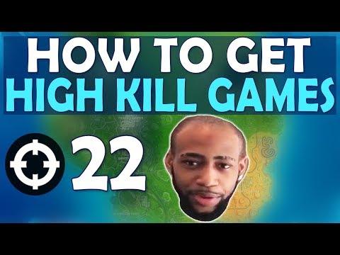 HOW TO GET HIGH KILL GAMES | TOURNAMENT WINNING RUN - (Fortnite Battle Royale)