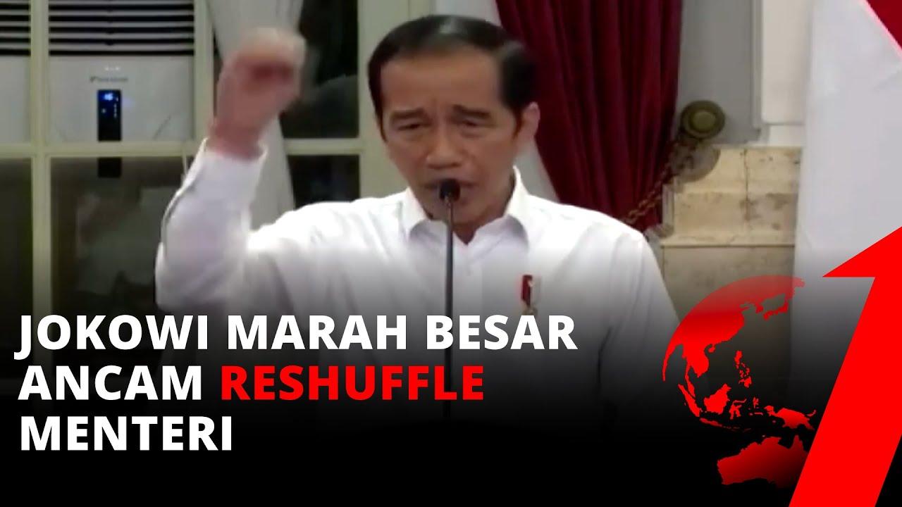 Jokowi Marah Besar, Ancam Reshuffle Menteri dan Siap Bubarkan ...