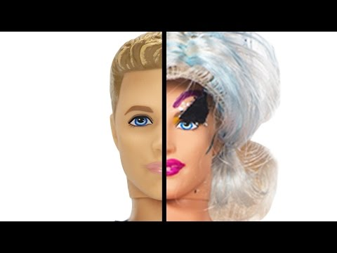 Thumbnail: Drag Queens Give Ken Dolls Drag Makeovers