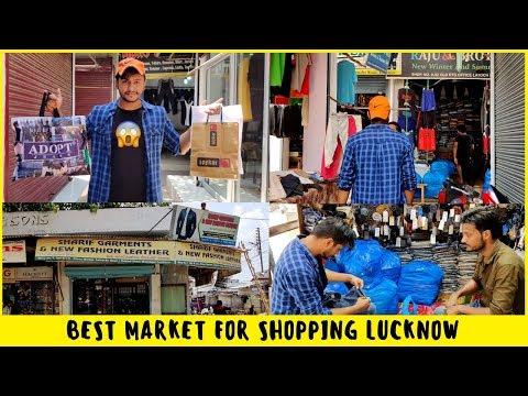 NIXON MARKET LUCKNOW | CHEAP SHOPPING MARKET FOR MEN