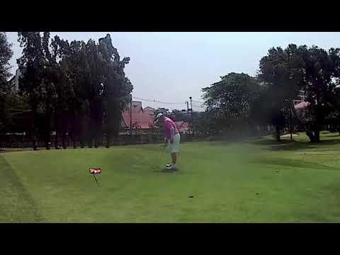 4th Hole ZZ Birdie Putt Asia Pattaya Golf Course Thailand