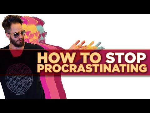 How To Stop Procrastinating: Julien Blanc Overdoses On LSD To Reveal How To Beat Procrastination!!!