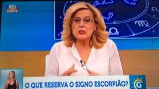 Maria Helena fala sobre o signo Escorpião no programa Grande Tarde