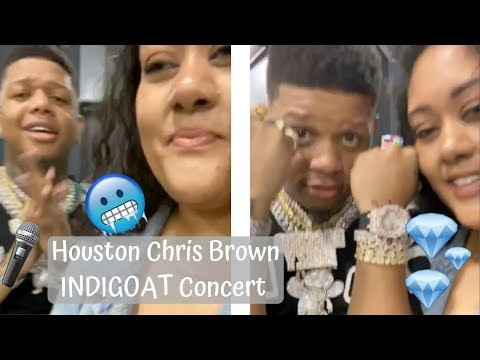 Ashlee - VLOG: Ashlee at the INDIGOAT Tour with Chris Brown, Yella Beezy