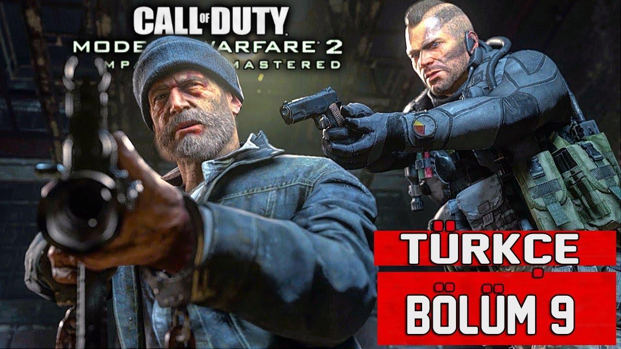 CAPTAIN PRICE'IN DÖNÜŞÜ !   Call Of Duty Modern Warfare 2 Remastered Türkçe Bölüm 9