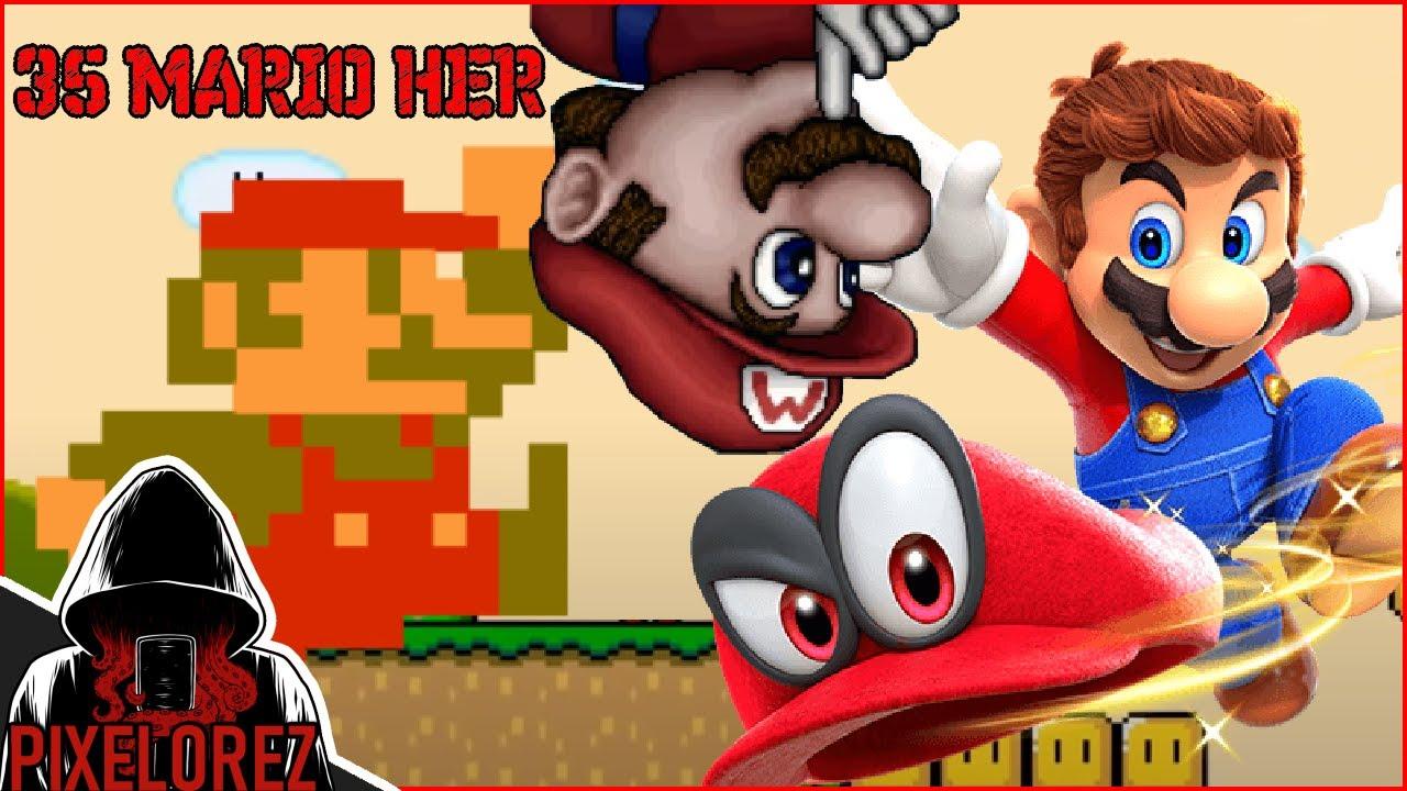 35 Mario Her od nejhorší po nejlepší - Pixelova Dlouhačka