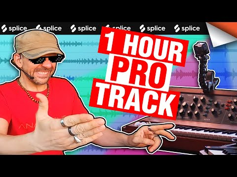 How To Produce A Professional Track In 1 HOUR
