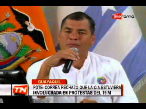 Sobretasas arancelarias no afectan a la canasta básica, segun pdte. Correa