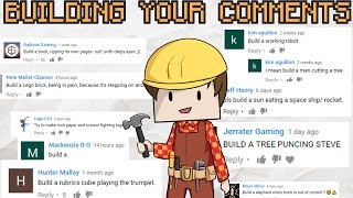 BUILDING YOUR MINECRAFT COMMENTS #4