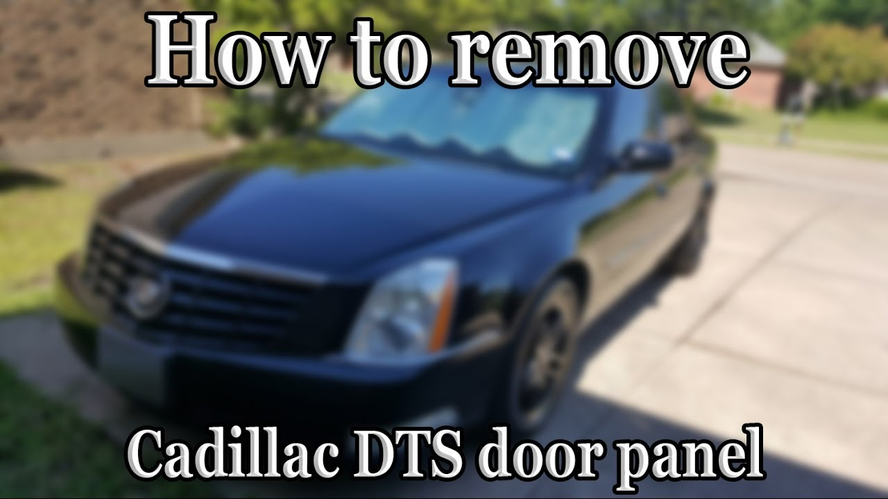 2006 cadillac dts remove door panel [ 1280 x 720 Pixel ]
