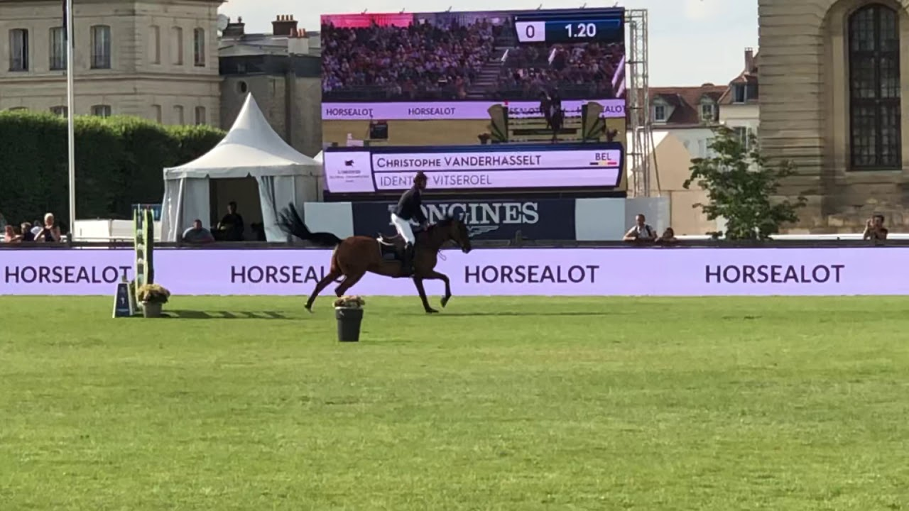 GRAND PRIX LONGINES GLOBAL CHAMPIONS TOUR OF CHANTILLY 2019