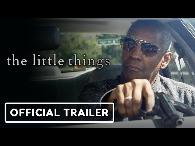The Little Things - Official Trailer (2021) Denzel Washington, Rami Malek, Jared Leto