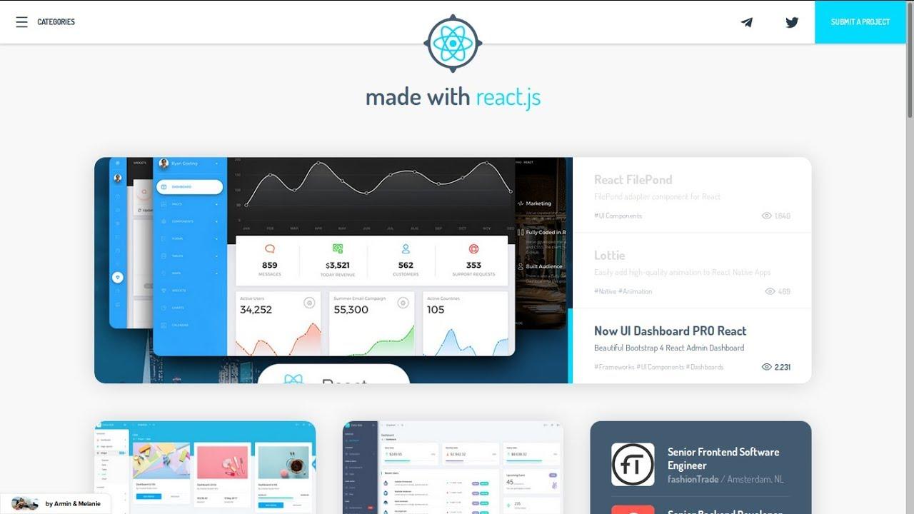 MADEWITHREACTJS COM BEST REACT JS WEBSITES AND APPS 🏆