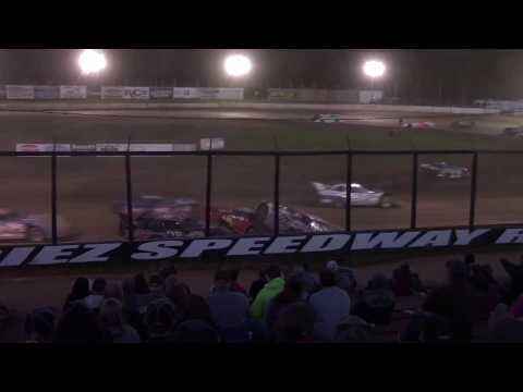 Eriez Speedway RUSH Crate Late Model Feature 9-23-18