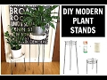 DIY PLANT STAND   MODERN TUMBLR INSPIRED PLANT STAND DIY
