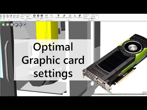 Optimal Graphical Card Settings for NCSIMUL | Tutorial