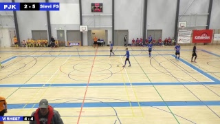 PJK - Sievi FS 01.10.2017 klo 15.00 Futsal-liiga