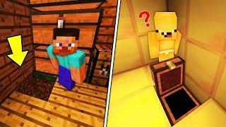 FAKİR SAKAR BEBEĞİN GİZLİ GEÇİTİNİ BULDU !! 😱 - Minecraft