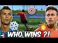 Ronaldo, Neymar, Lewandowski Challenges! 🔥Fire vs ❄Ice