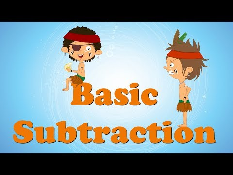 Basic Subtraction for Kids | #aumsum #kids #education #science #learn