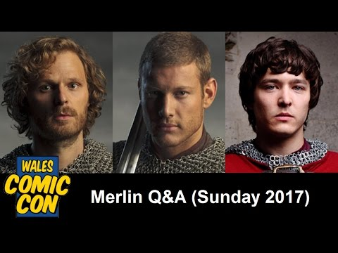 WCC 2017 - Merlin Panel with Rupert Young, Tom Hopper & Alexander Vlahos [Sunday]