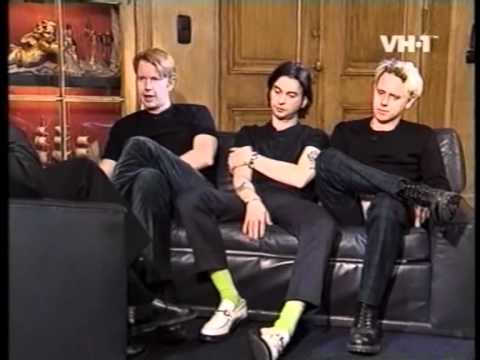 Depeche mode interview april 1997 VH1