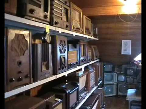 Zenonas  Radio Museum  Lithuania  (part one)