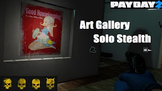 (Payday 2) Art Gallery Heist - Solo Stealth Deathwish Guide