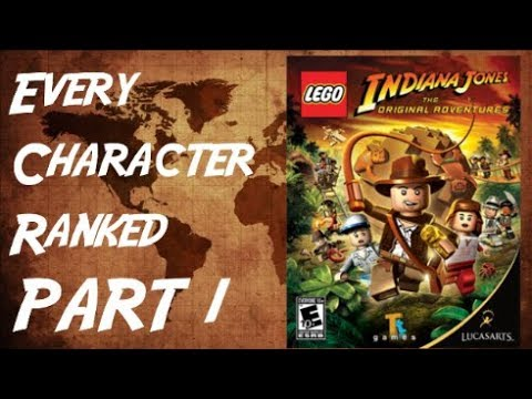 LEGO Indiana Jones The Original Adventures: Every Character Ranked PART 1