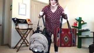 This stroller is smaller than your diaper bag