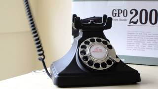 **REVIEW** Protelx GPO 200 Classic Retro Rotary Dial Corded Telephone