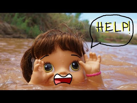 BABY ALIVE DIY Floatie For Baby Alive, Floating Down The River! Baby Alive Videos