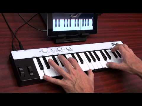 iRig KEYS Universal portable keyboard for iPad, iPhone, iPod touch, Mac/PC and iGrand Piano for iPad