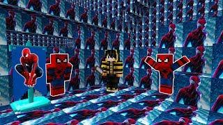 GÖRÜNMEYEN ÖRÜMCEK ADAM OLDUM! - Minecraft SAKLAMBAÇ