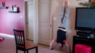 pike press and handstand handstand press p90x
