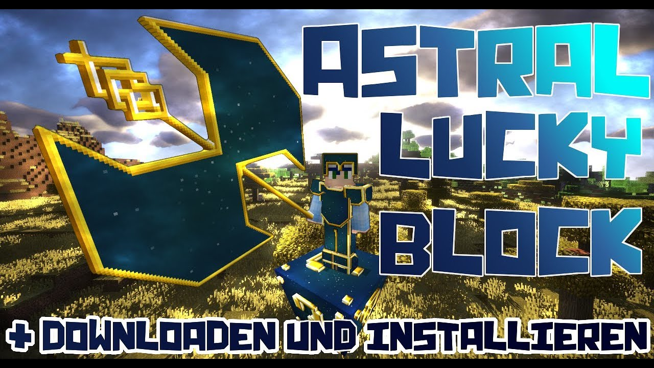 minecraft astral lucky block mod download 1.8