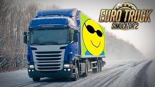 CON MITO IN FRANCIA EURO TRUCK SIMULATOR 2 - MULTIPLAYER - GAMEPLAY ITA ONLINE NEVE SNOW