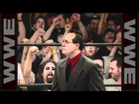 Joey Styles makes an emotional entrance during ECW One Night Stand 2005