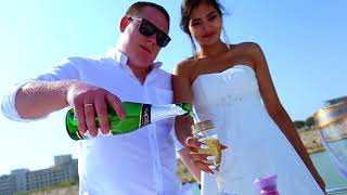 Свадебная церемония на яхте в Анталии!Марк и Дамира 17.09.17