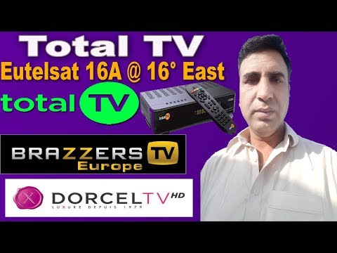 Total Tv Package Eutelsat 16A Brazzers Tv Dorcel HD Tv On