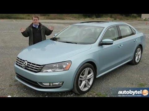 2013 Volkswagen Passat VR6 Test Drive & Mid-Size Sedan Car Video Review