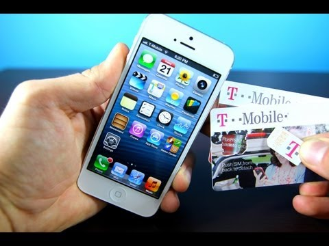 iPhone 5 Tmobile Unlock on iOS 6 - Official Verizon iPhone 5 6.0 GSM Unlocked for T-mobile & AT&T! - 동영상